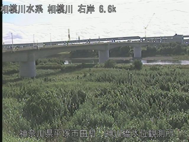 神川橋水位観測所 現在の写真