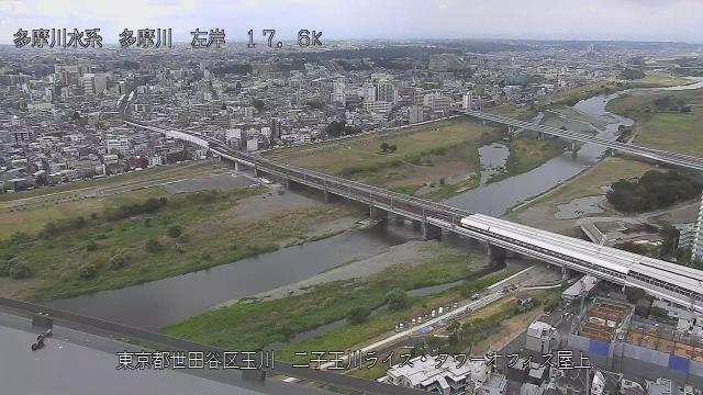 二子玉川ライズタワー 現在の写真