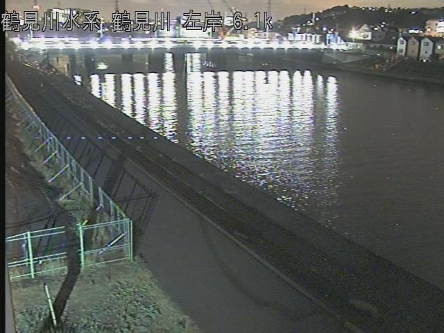 末吉橋水位観測所 現在の写真