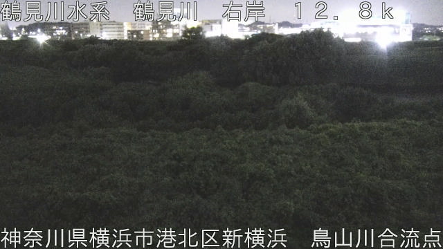 鳥山川合流点 現在の写真