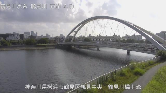 鶴見川橋上流 現在の写真