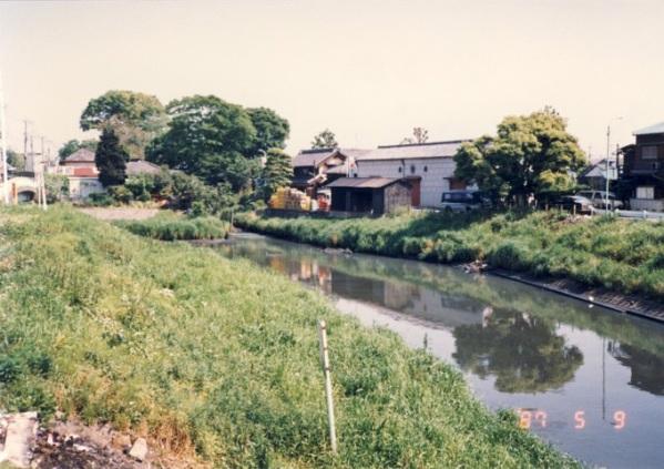 綾瀬川の写真 <b>1987年</b>(昭和62<b>年</b>) | 江戸川河川事務所 | 国土交通省 関東