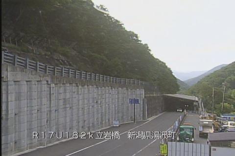 ライブカメラ 国道17号 三国トンネル新潟県側(立岩橋)