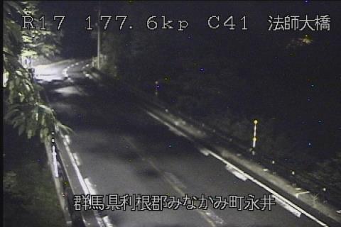 ライブカメラ 国道17号 法師大橋(標高960m)