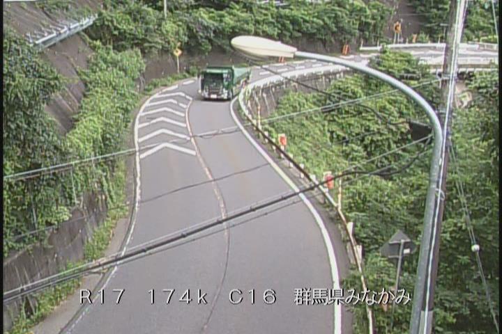 ライブカメラ 国道17号 みなかみ町永井(標高800m)